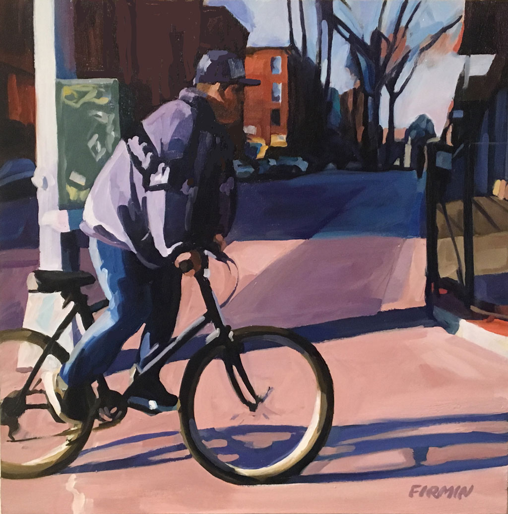 Man on a Bike