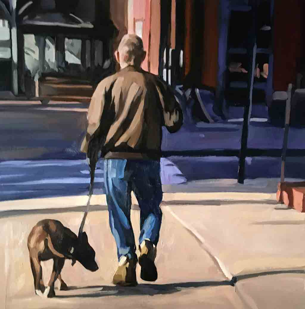 Walking the Dog, Downtown