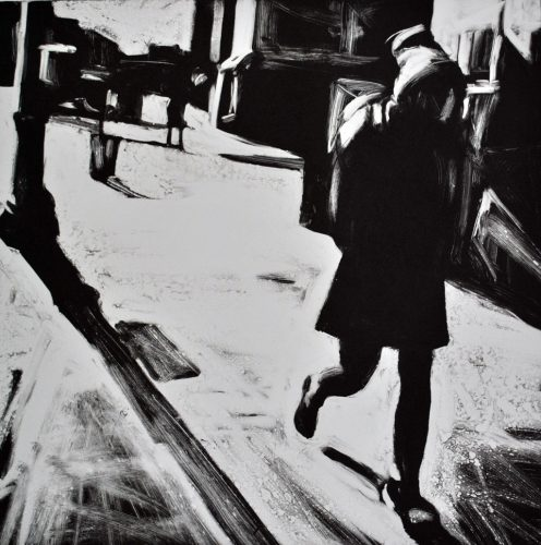 Woman Walking, 7th Ave. South I