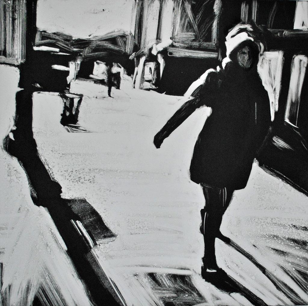 Woman Walking, 7th Ave. South