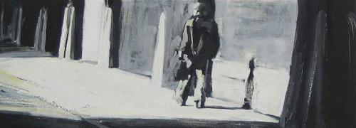 Varick Street, print by Lisbeth Firmin