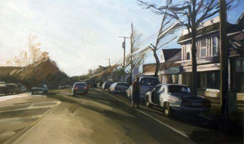 Amagansett, oil painting by Lisbeth Firmin
