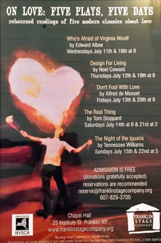Five Plays About Love