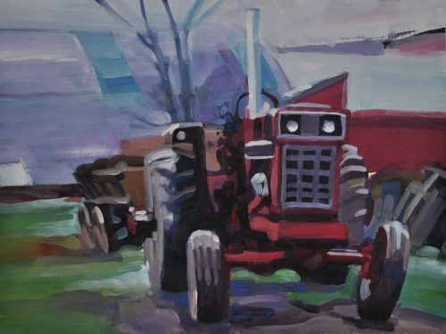 International 1566 Tractor