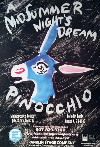 Pinocchio & Midsummer Night's Dream